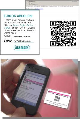 QR Code ebook auslieferung